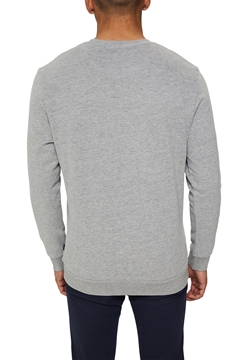 Picture of Colour block sweatshirt in blended cotton