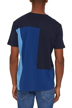 Снимка на SUSTAINABLE Мъжка цветна тениска от органичен памук