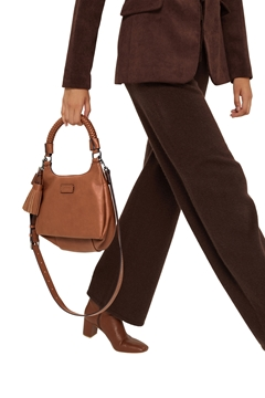 Снимка на Дамска чанта през рамо от еко кожа