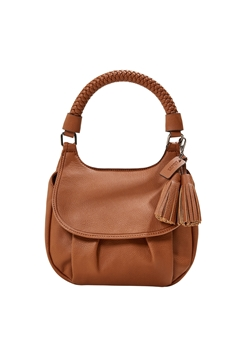 Picture of Vegan: flap-over shoulder bag