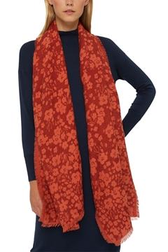 Снимка на SUSTAINABLE Дамски тъкан шал, изработен от памук/LENZING ™ ECOVERO ™