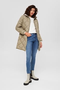 Picture of SUSTAINABLE Recycled: quilted coat with 3M™ Thinsulate™