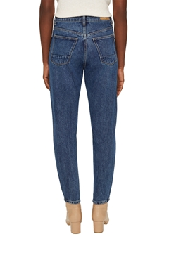 Picture of SUSTAINABLE Cropped high-rise jeans, 100% organic cotton