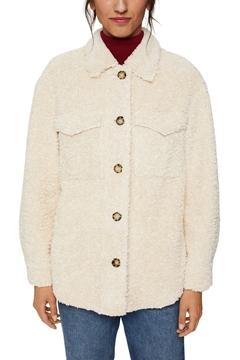 Снимка на SUSTAINABLE Пухкаво дамско яке от еко кожа