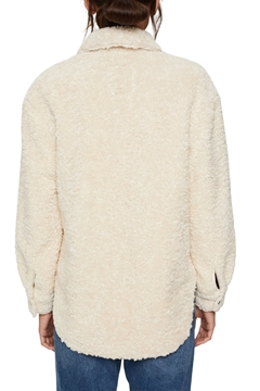 Picture of SUSTAINABLE Recycled: faux shearling shacket