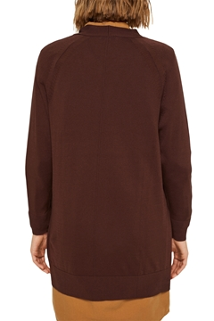 Picture of Open cardigan made of 100% pima cotton
