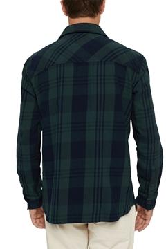 Снимка на SUSTAINABLE Мъжка карирана overshirt от органичен памук