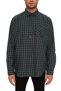 Снимка на SUSTAINABLE Мъжка карирана риза от 100% органичен памук