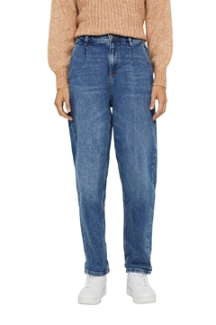 Picture of SUSTAINABLE Trendy jeans with waist pleats, organic cotton