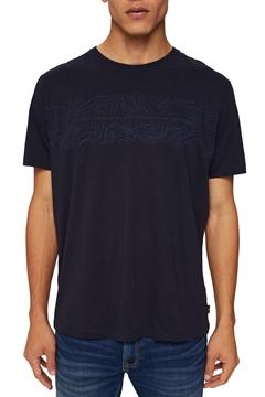 Снимка на SUSTAINABLE Мъжка тениска от органичен памук с прин на гърдите