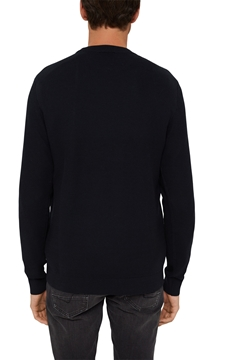 Picture of SUSTAINABLE Textured jumper made of 100% organic cotton