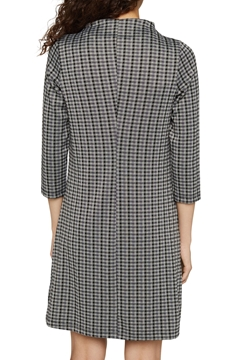 Picture of SUSTAINABLE: jersey dress with check pattern