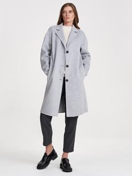 Снимка на SUSTAINABLE Дамско вълнено палто