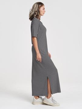 Снимка на SUSTAINABLE Дълга рокля от вискоза в стил тениска