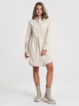Снимка на SUSTAINABLE Рокля тип риза от органичен памук